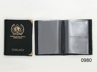 Leather case for identity papers